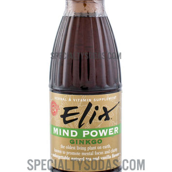 Elix Mind Power with Ginkgo 100ml Glass Bottle