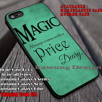 Magic Always Comes | Rumpelstiltskin | Once Upon a Time iPhone 6s 6 6s+ 6plus Cases Samsung Galaxy s5 s6 Edge+ NOTE 5 4 3 #movie #cartoon #disney #animated #onceuponatime ii