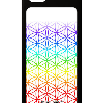 Chakra Flower of Life on White iPhone 5 / 5S Grip Case All Over Print