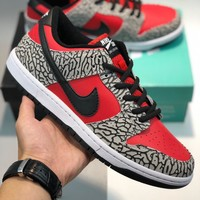 Parra x Nike SB Dunk Low cheap Men's and women's nike shoes