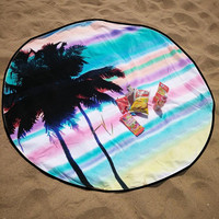 NEW Indian Mandala 150cm Round Coconut For Palm Summer Beach Tapestry Towel Blanket Throw Yoga Mat Pad Blanket Table Cloth