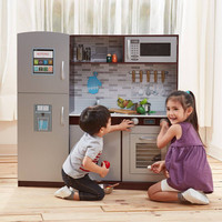 Teamson Kids - Uptown Play Kitchen - Espresso (1 Piece)