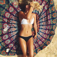 Fashion Print Shawl Beach Towel