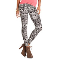 NEUTRAL TRIBAL COTTON LEGGING