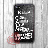 5sos band keep calm -1nay for iPhone 4/4S/5/5S/5C/6/ 6+,samsung S3/S4/S5,samsung note 3/4
