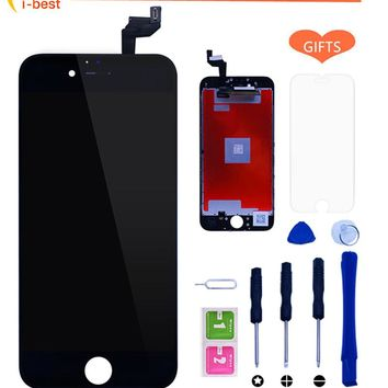 1pcs For iphone 6s 6 5S 4S LCD Assembly With 3D Touch Screen Display Replacement No Dead Pixel  For iPhone 6S LCD