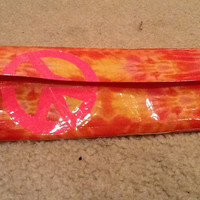 duct tape tiedye and pink women's wallet by camillecarson1 on Etsy