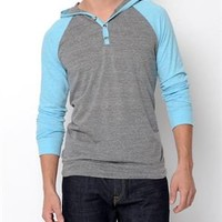 Crank Hooded Long-Sleeve Shirt- Made in USA - Summer Essentials for Him - Modnique.com