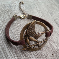 Hunger Games Bracelet, Personalized Eco-friendly Charm Jewelry Gift Ideas