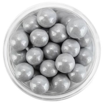 Pearly Gray Sugar Pearls 7MM