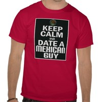Keep Calm And Date A Mexican Guy -- T-Shirt from Zazzle.com