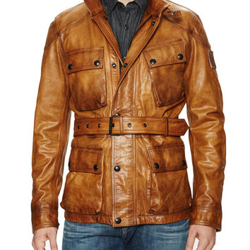 Belstaff Men's New Circuitmaster Leather Jacket - Open Miscellaneous