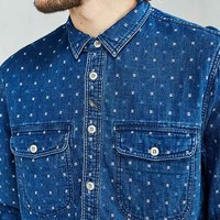 CPO Washed Indigo Dobby Button-Down Workshirt