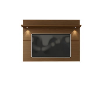 Cabrini Floating Wall TV Panel 2.2 in Nut Brown