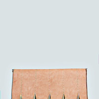 Amelia Stud And Stitch Detail Clutch Bag