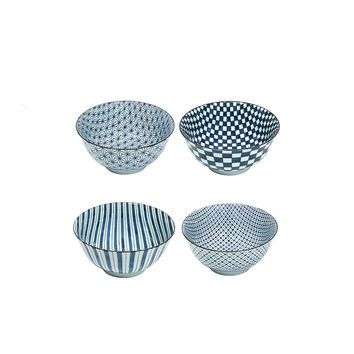 So into this design on Fab! Four Pattern Bowl Set Of 4 #FabForAll