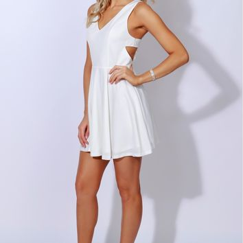 Love Letters Classic Dress Off White