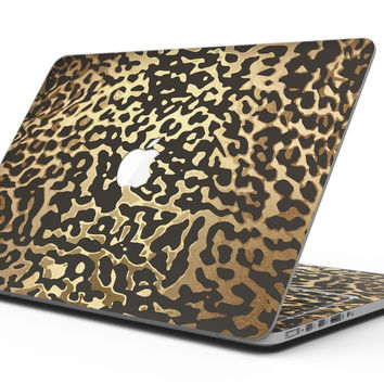 Dark Gold Flaked Animal v1 - MacBook Pro with Retina Display Full-Coverage Skin Kit
