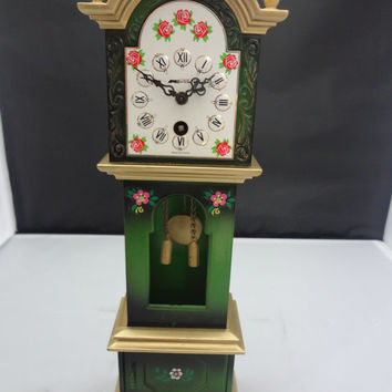 1950's Miniature Grandfather Clock