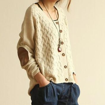 CUTE FASHION LONG SLEEVE SWEATER CARDIGANS