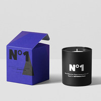playtype scented candle / no 1
