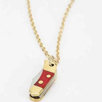 Little Pocketknife Necklace- Gold One