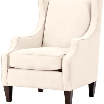 Custom Juno Upholstered Lounge Chair - Lounge Chair - Accent Chair | HomeDecorators.com