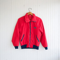 Vintage 90s Red Patagonia Windbreaker