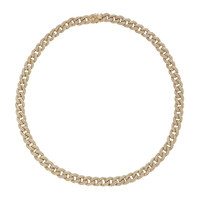 Small Pave Link Necklace | Moda Operandi