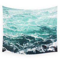 Society6 Blue Water Wall Tapestry