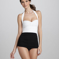 Bill High-Waist Tankini - Bergdorf Goodman