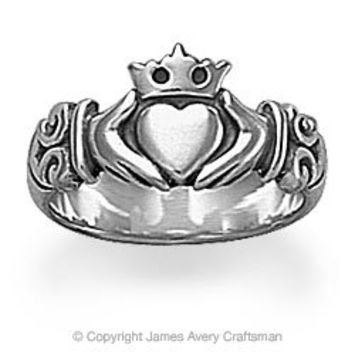 Adorned Claddagh Ring from James Avery