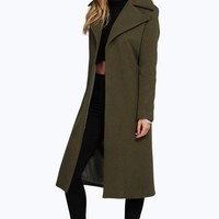 Jeeny Oversized Collar Coat