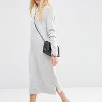 ASOS | ASOS Midi Sweater Dress in Wool Mix Yarn at ASOS