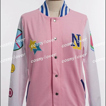 Free! Iwatobi Swim Club Free Eternal Summer Hazuki Nagisa Jacket Cosplay Costume