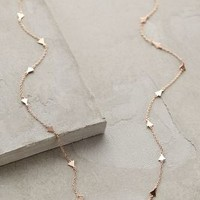 Ophelia Rose Gold Necklace by Shashi
