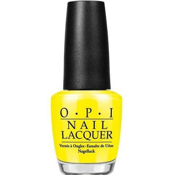 OPI Nail Lacquer - No Faux Yellow 0.5 oz - #NLBB8