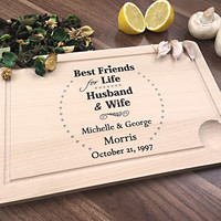 Best Friends For Life - Husband & Wife - Lovely Wedding Gift