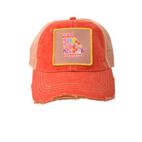Judith March Georgia Hat (red)