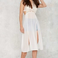 Love Street Sheer Maxi Top