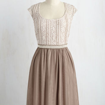 Mocha Maven Dress | Mod Retro Vintage Dresses | ModCloth.com