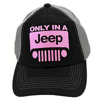 Trucker Style Only In A Jeep Hat