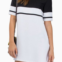 Black V-Neck Short Sleeve Summer Dress