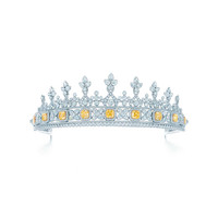 Tiffany & Co. - Fancy Intense Yellow<br>Diamond Tiara
