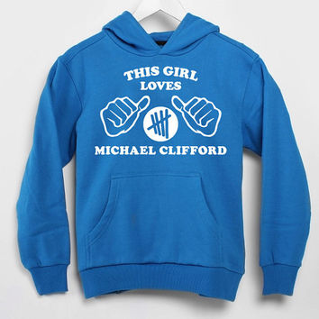 This Girl Loves Michael Clifford populer hoodie for mens and women by USA