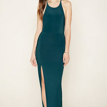 Contemporary Slit Maxi Dress