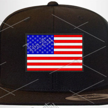 American Flag Snapback Snapbacks Hats Hat Caps Cap America Usa United States Of America 4Th Of July Patriot Custom Snapback