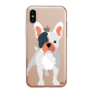 French Bulldog - iPhone Clear Case