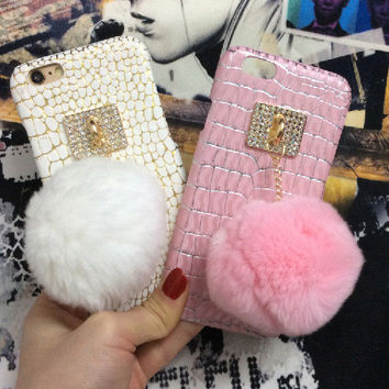 Stylish Iphone 6/6s Cute On Sale Hot Deal Apple Lovely Iphone Rhinestone Phone Case [6439083396]