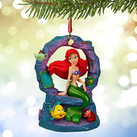 Ariel Musical Sketchbook Ornament